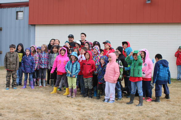 Elementary class photo in Stikine
