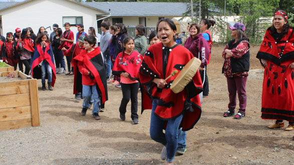 Drumming in Stikine