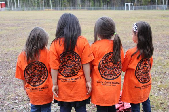 Orange shirt day in Stikine