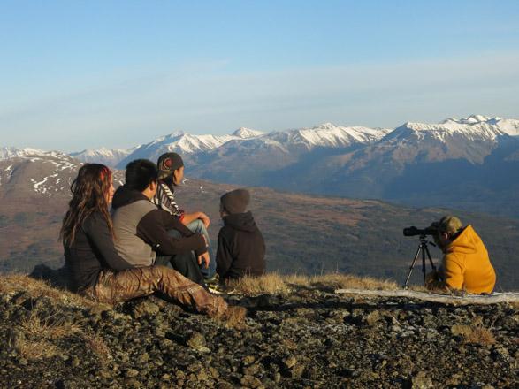 Mountain view of Stikine