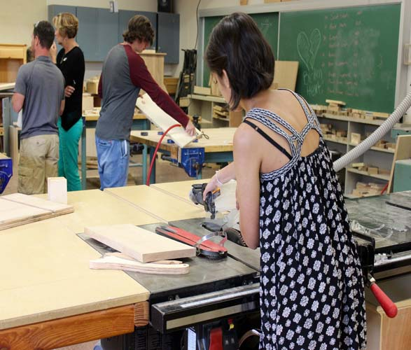 shop class at langley schools