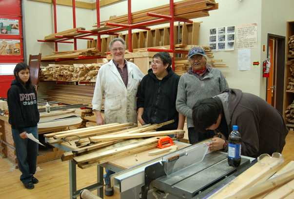 Sd74 Woodworking At Lillooet Secondary School Make A Future