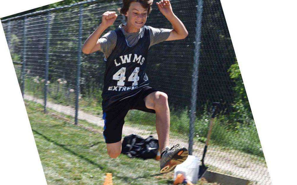 SD83 Student Long Jumper