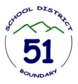 Boundary School District logo