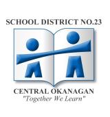 Central Okanagan School District logo