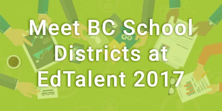 Ed Talent 2017 Career Fair