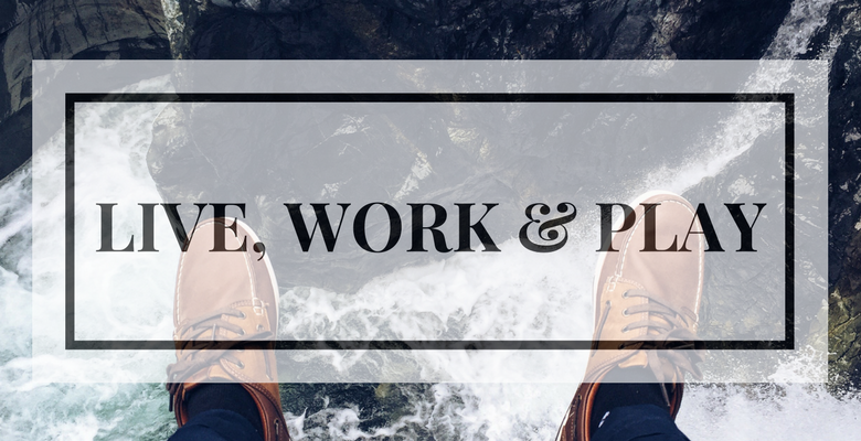 live work play banner