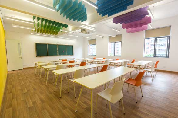 Majestic BC International classroom