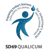 Image of Qualicum School District 69 logo