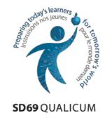 Image of Qualicum School District 69 logo
