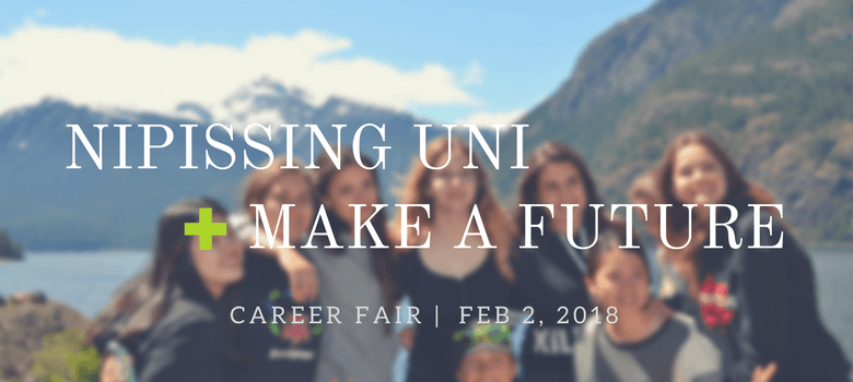 Image of Nipissing University Education Career Fair Banner