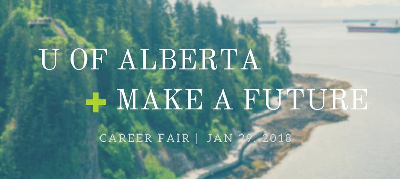 Image of University of Alberta and Make a Future