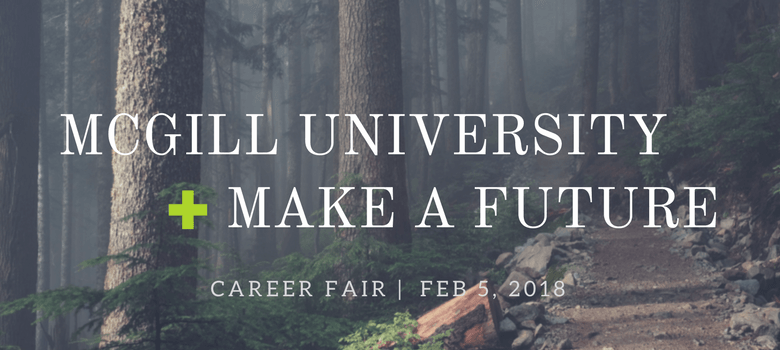 Image of McGill University Education Career Fair Banner
