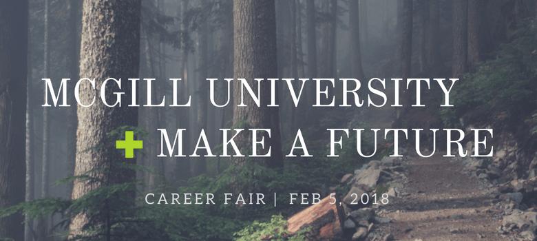 Image of McGill University Education Career Fair Banner