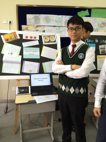 Image of SIPFLS student presenting