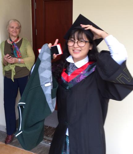 Image of SIPFLS student graduating