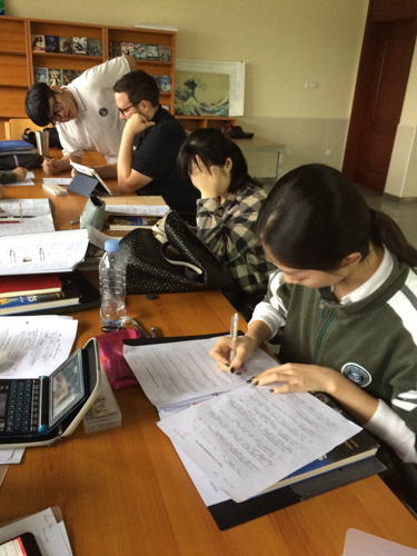 Image of SIPFLS student studying
