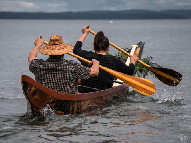 Image of canoers