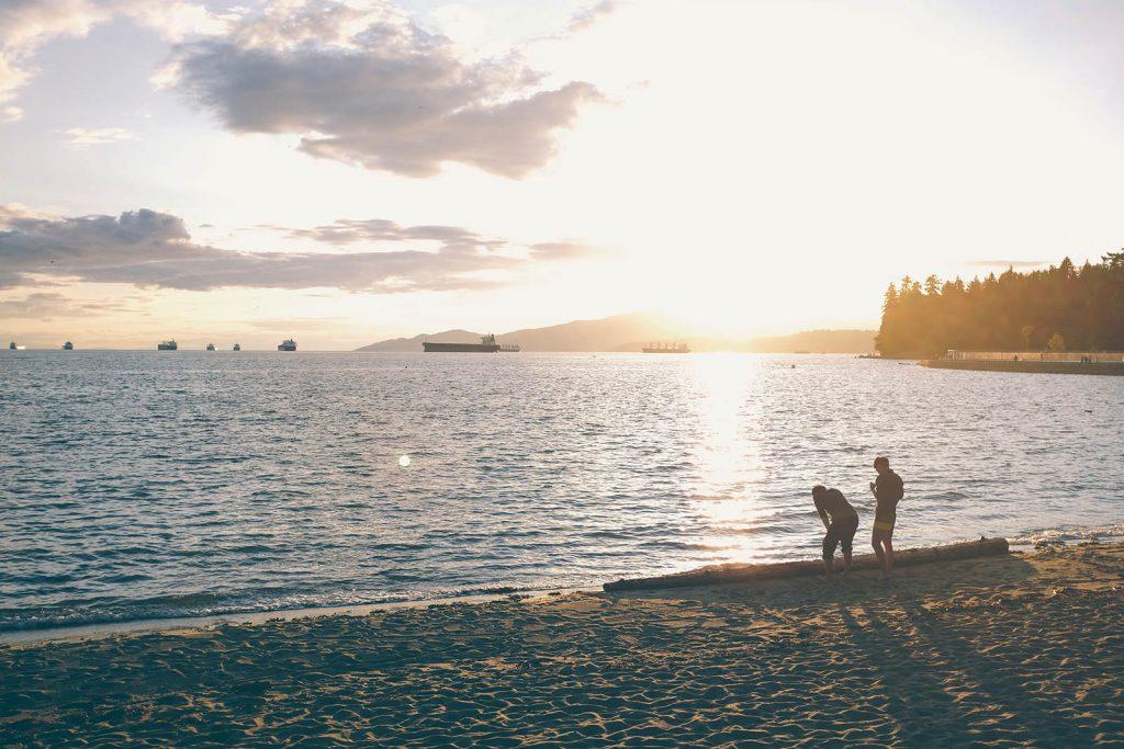 Vancouver Stanley Park Second Beach