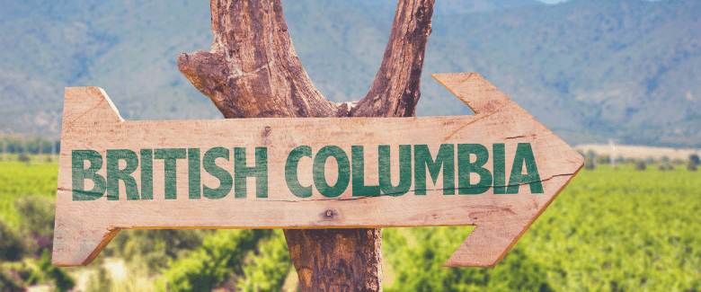 Arrow point to opportunities in British Columbia