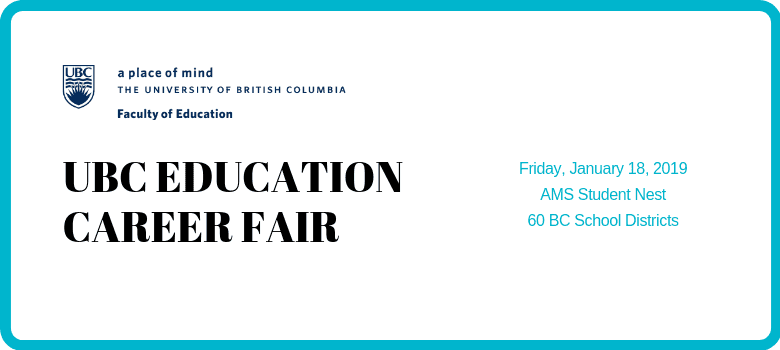 UBC Education Career Fair