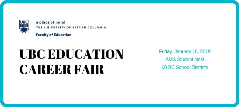 UBC Education Career Fair