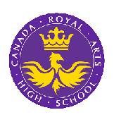 Canada Royal Arts High School Logo
