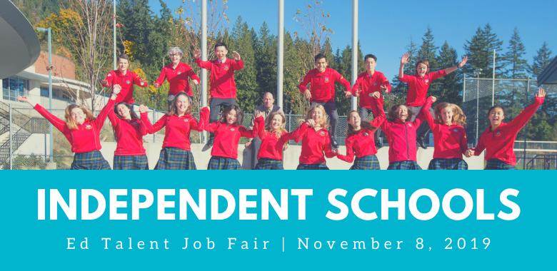 Independent Schools Banner for EdTalent