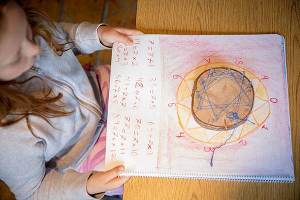 Whistler Waldorf School Grade 2 Math Student