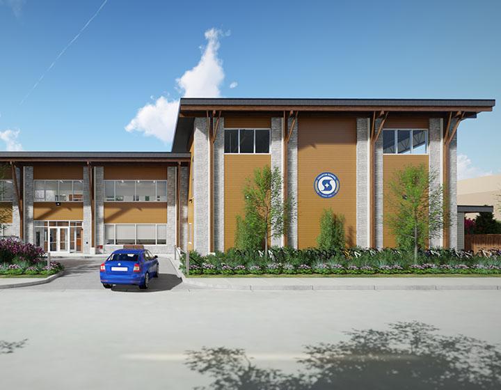 Chaoyin International School building exterior