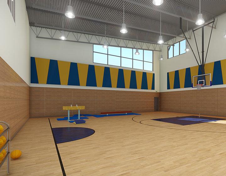 Chaoyin International School gym
