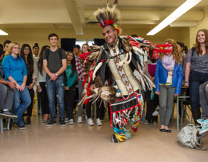 Delview School traditional performance