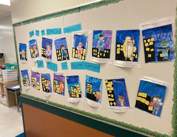 Coquitlam school heroes poster