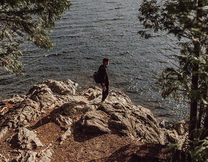 Buntzen Lake in Amore, BC