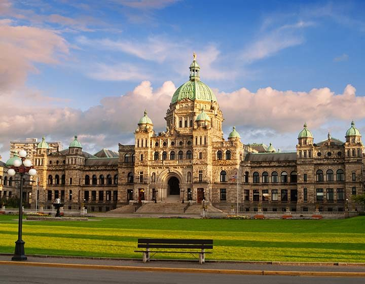 Greater Victoria parliament building