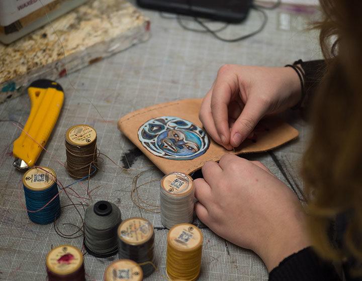 Cowichan Valley schools indigenous crafts