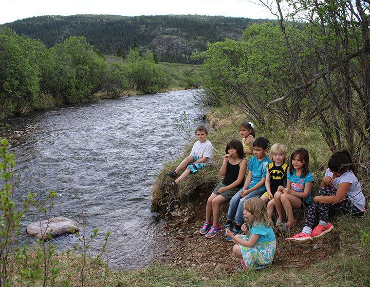 Stikine students field trip