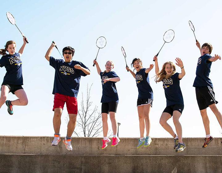 NVSS Badminton Team