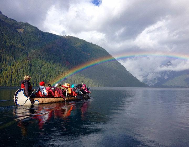 Canoeing in Chilliwack