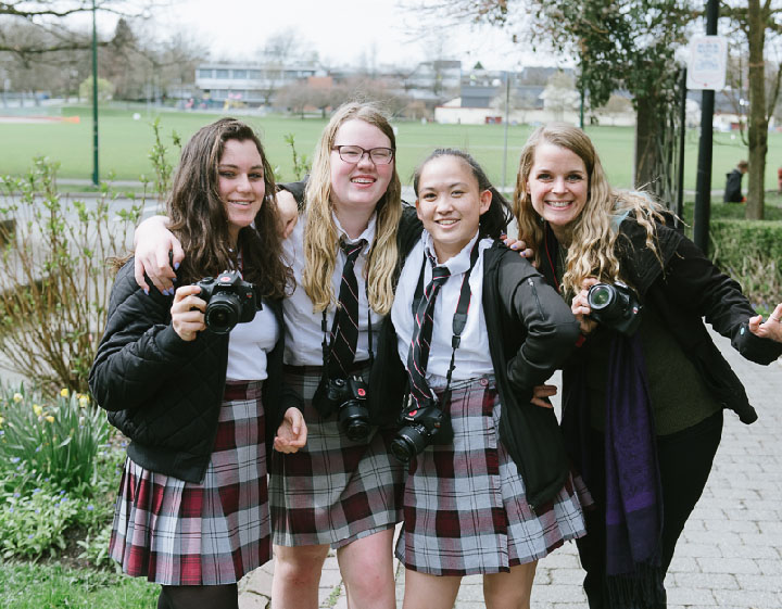 Fraser Academy students