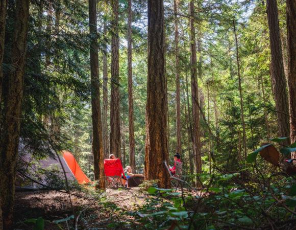 Rathtrevor Provincial Park site
