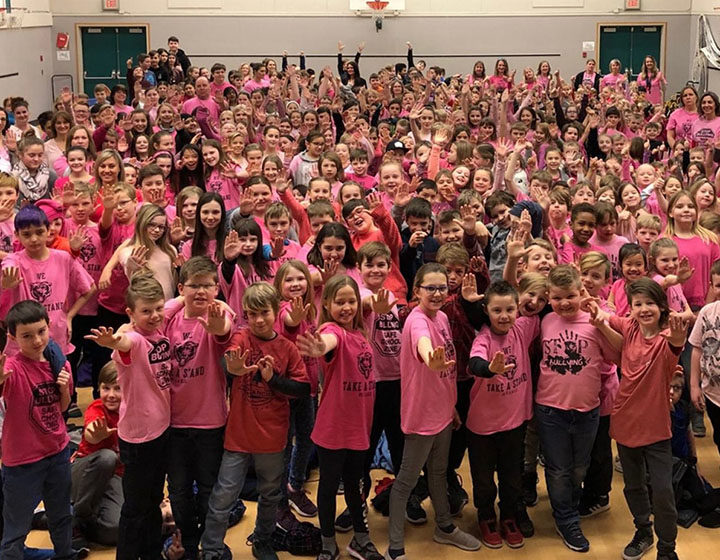 SD 22 Pink Shirt Day