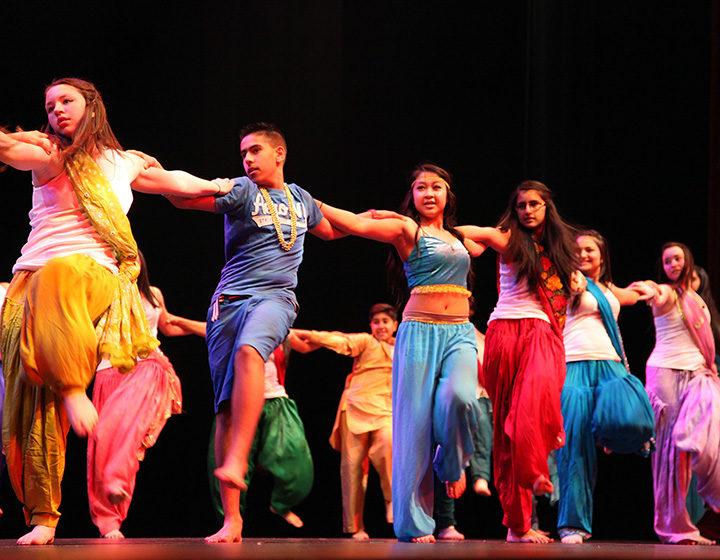 Aladdin performance at Panorama Ridge School in Surrey