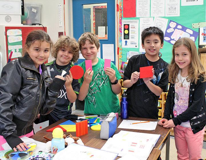 Richmond Public Schools elementary students