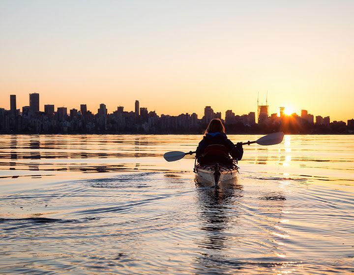Vancouver kayaker