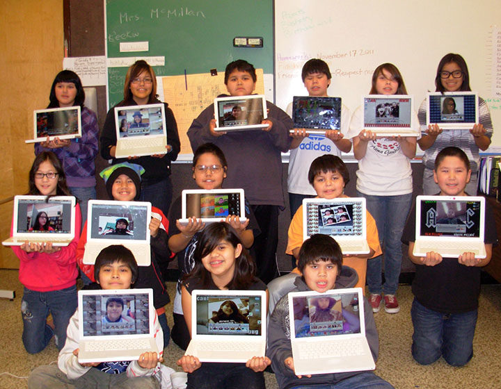 Nisga'a Elementary Secondary students