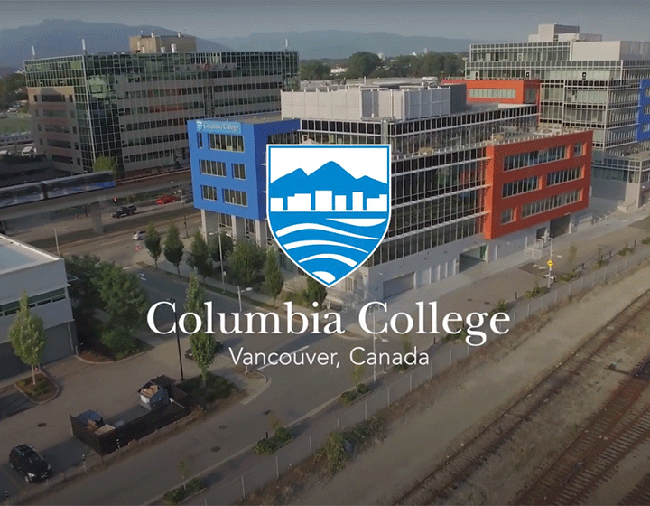 Columbia College School building exterior view