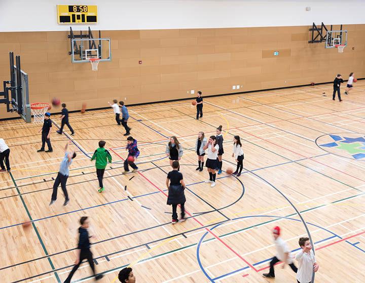 Vancouver Talmud Torah School gym